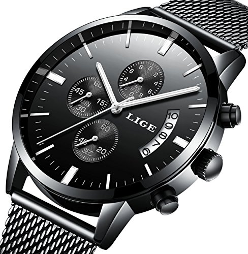 black dial stainless - 8