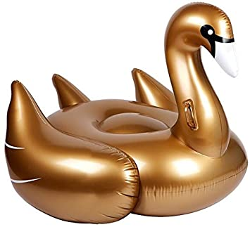 Disfraces Llopis Cisne hinchable Dorado de 150 cm: Amazon.es ...