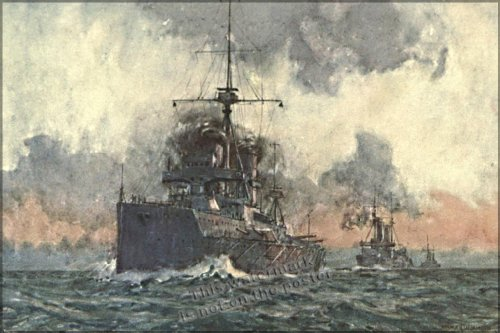 "HMS Dreadnaught - 24""x36"" Poster"
