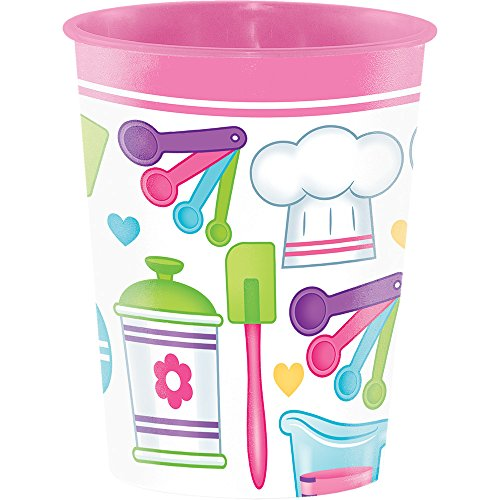 Creative Converting Plastic Keepsake Cups, Little Chef (12-Count) by Creative Converting