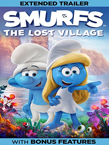 DVD : Smurfs: The Lost Village (Plus Bonus Content)