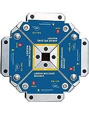 VVEMERK Lasmagneet, 4 stuks, magnetisch, voor hoekhouder, 45 °, 90 °, 135 °, 13 kg