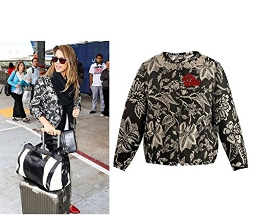 | 1K NEW ISABEL MARANT SIZE 36 38 FR 4 6 US Hawaiian Silk Bomber Jacket Floral (38 FR 6 US) | Boots