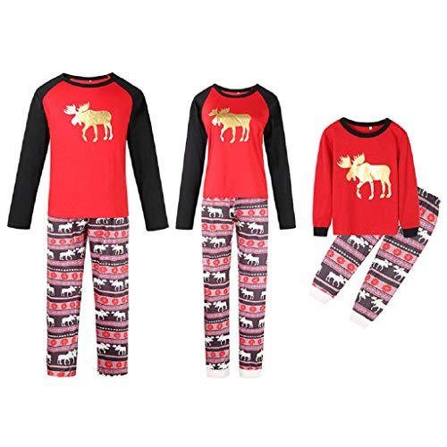 Christmas Family Pajamas Pjs Women Men Kids Baby Kids Halloween Two Piece Jeans Terry Cats Soft Winter eyeero Girls Shorts Cute Pants Sister Big Kids Mint dr 5XL -