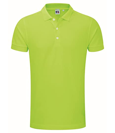 Russell - Polo elástico (talla XL), color verde: Amazon.es: Ropa y ...