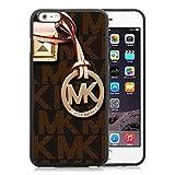 iPhone 6 Plus 5.5 inch Michael Kors Black TPU Phone Case Unique and Luxury Design