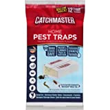 Catchmaster Home Pest Traps Glue Boards, 12 count (1) (1 Pack)