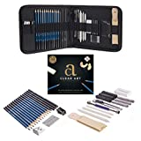 Drawing Kit – Drawing Pencils – Sketch Pencils – 33 Piece Sketch Kit with Case – Graphite Pencils – Charcoal Pencils – Erasers – Sharpeners – Blending Stumps - Drawing Tools – Deluxe Art Set - eBook