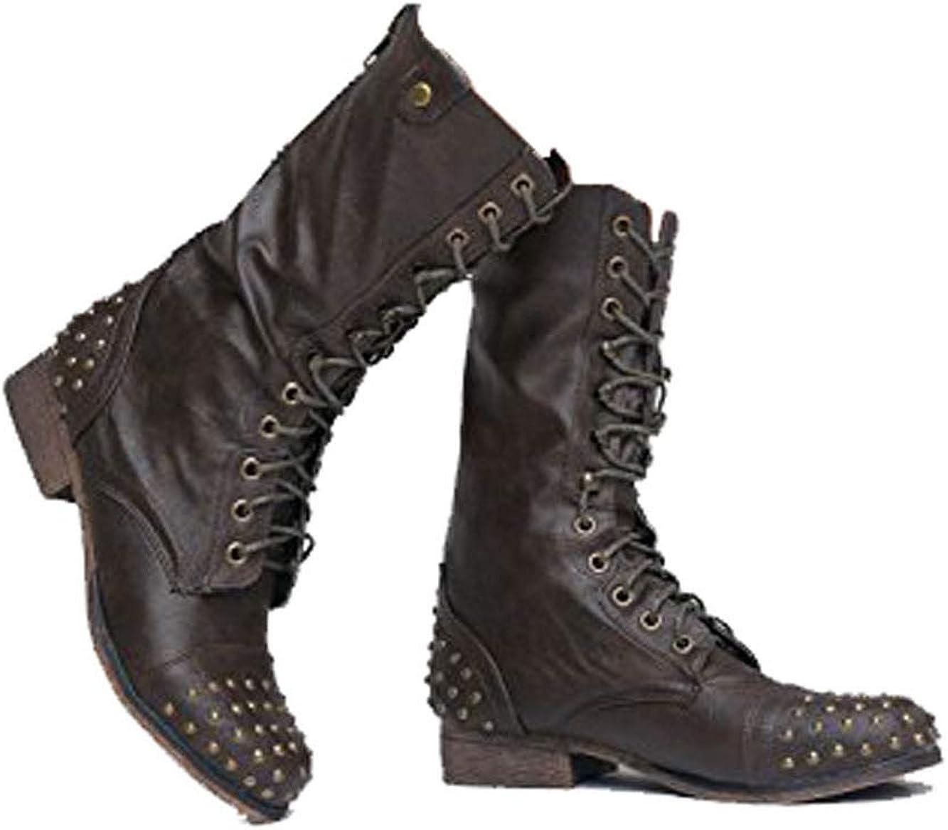 girls brown combat boots