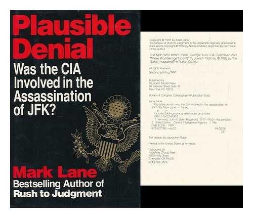 Plausible Denial by Mark Lane