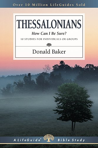1   2 Thessalonians  How Can I Be Sure   Lifeguide Bible Studies
