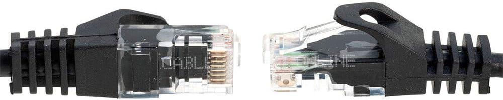 CAT5e Patch Cable Black Gray White Blue Ethernet 3ft 6ft 10ft 20ft 30ft 50ft LOT 200 ft, Blue