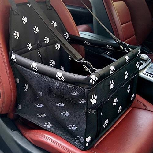 Dog Booster Seats Clearance , Collapsible Pet Dog Booster Car Seat Cat Car Carrier And Zipper Storage Pocket by Little Story