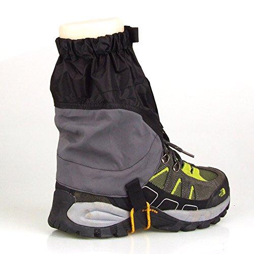 HSL 1 paar unisex - snowproof wasserdicht ultra - light - gamaschen, bootsfahrten fischerei ski schwarz