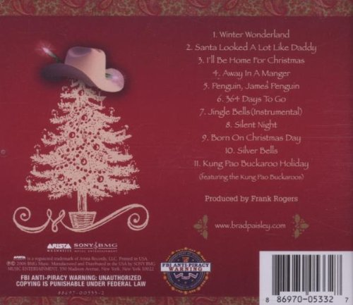 Brad Paisley - A Bp Christmas - Amazon.com Music
