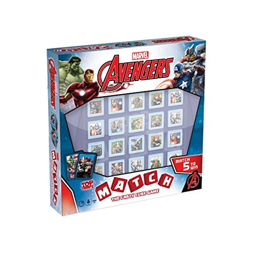 Top Trumps Marvel Avengers Assemble Match Board Game Marvel Avengers Match
