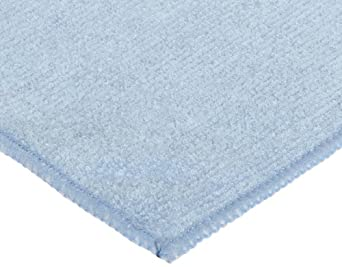 CPI MF12 BPK General Purpose Cleaning Microfiber Cloth, 12-Inch x 12-Inch, Blue (Pack of 12)