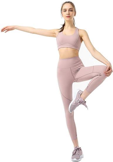 Sport Suit High Waist Leggings Gymwear Fitness Wear High Quality Active Workout Clothes Sports Bra New Womens 2pcs Yoga Set