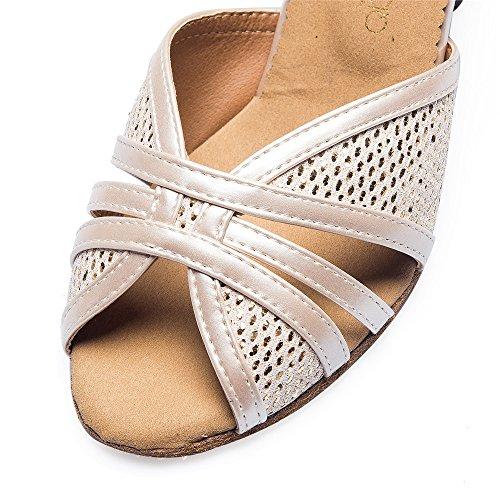 Zapatos De Damas El color de la piel de 5 cm.