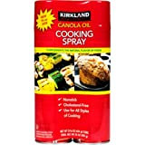 Kirkland Signature Canola Oil Cooking Spray, 2 Count