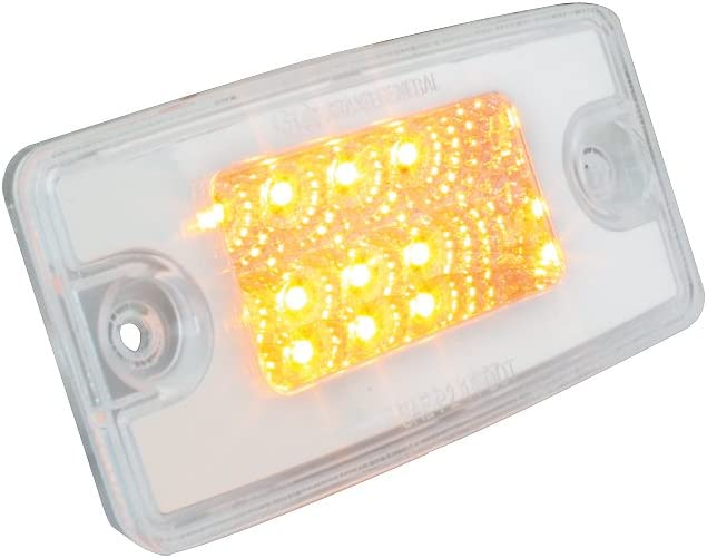 2-1//8 Spyder LED Amber Honda, 2 Function GG Grand General 77804 1//8 Arm Light