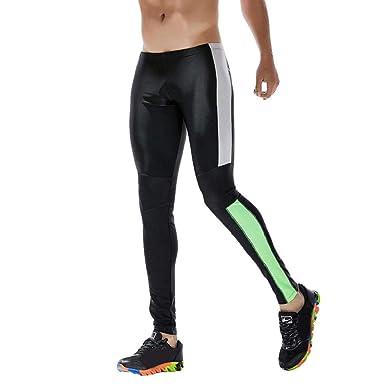Amazon.com: MISYAA Mens Yoga Pants, Solid Stretchy Pants ...