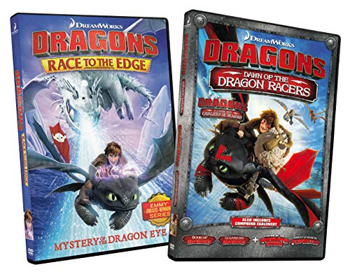 (Dragons Race to the Edge: Mystery Of The Dragon Eye / Dragons Dawn of the Dragon Racers (2 Pack))