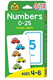 Books : Numbers 0-25 Flash Cards