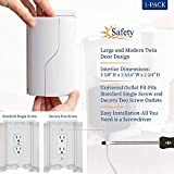 Safety Innovations Twin Door Baby Safety Outlet