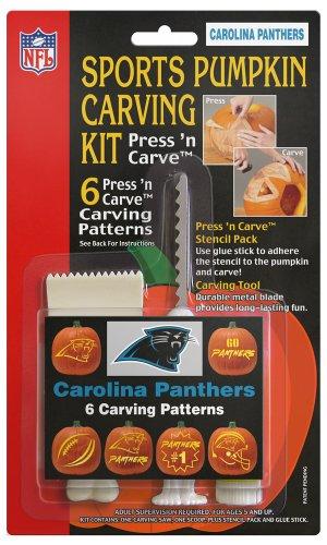 NFL Carolina Panthers Pumpkin Carving Kit