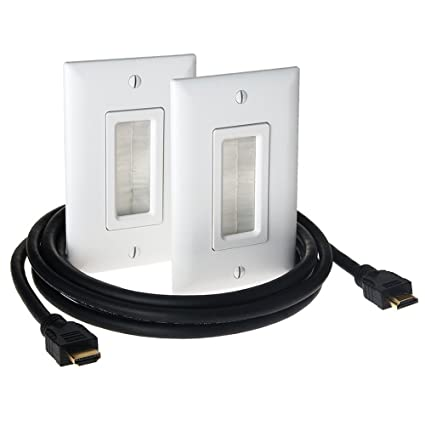 Excellent Amazon Com Legrand On Q Hdmi In Wall Connection Kit Ht2000Whv1 Wiring 101 Archstreekradiomeanderfmnl