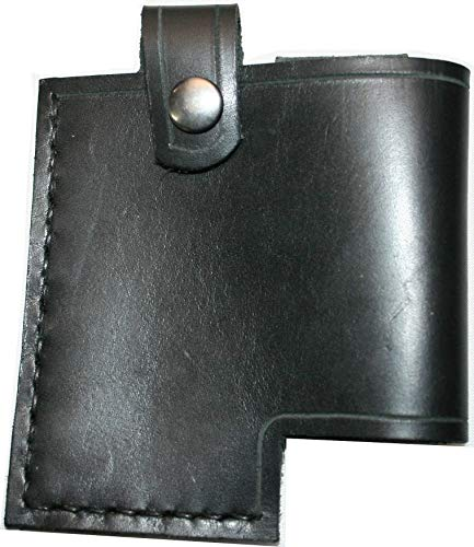 Wireless Transmitter Sheath - Line 6 Relay Holster - For G30, G60, and G90 Packs - Genuine Leather - Hip Carry - Strap Carry - Handmade In The USA ()