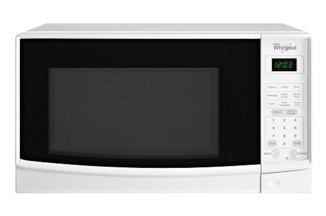 Whirlpool WMC10007AW 0.7 Cu. Ft. White Countertop Microwave