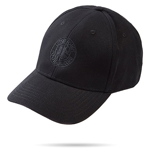 Ltd de amp; Negro Co Unique para Gorra Hombre Town Athletic béisbol Luton Negro Football Taille xnqPXwUFE0