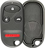 KeylessOption Just the Case Keyless Entry Remote Key Fob Shell