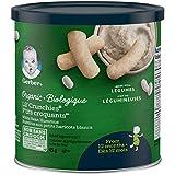 GERBER Organic Lil' CRUNCHIES White Bean Hummus 6 x 45 g (Pack of 6)