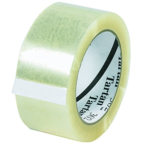 BOX BT902302 3M 302 Carton Sealing Tape, 2'' x 110 yd., Clear (Pack of 36) by Box
