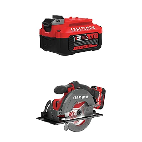 CRAFTSMAN V20 6-1 2-Inch Cordless Circular Saw Kit
