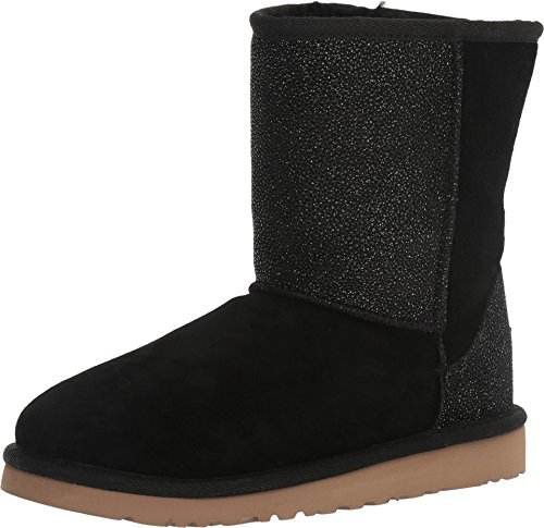 UGG Kids Classic Short Serein Boot Black Size 5 M US Big Kid by UGG