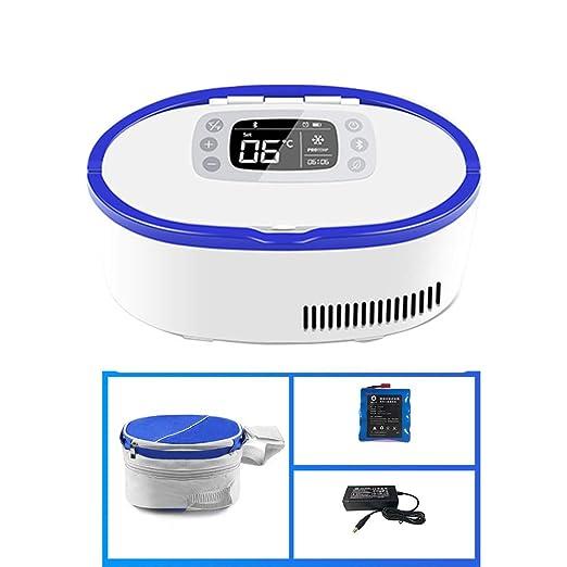 LXMBox Insulina Medicamentos, Mini Refrigerador para Insulina ...