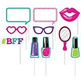Club Pack of 60 Sparkle Spa Party! Assorted Photo Booth Party Props