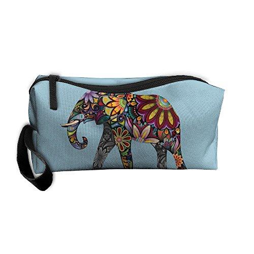 Coin Pouch Elephant Pen Holder Clutch Wristlet Wallets