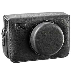O.N.E - Funda para cámaras Panasonic DMC-LX3/DMC-LX5, color negro