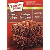 Duncan Hines Brownie Mix, Chewy Fudge, 450g