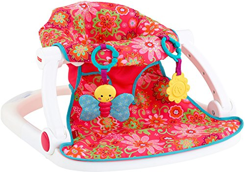 Fisher-Price Sit-Me-Up Floor Seat, Girl