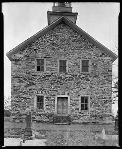 Vintography 8 x 10 Reprinted Photo of Southern Architectural Grace (Lower Stone) Church, Faith vic, Rowan County, North Carolina 1939 Johnston Frances Benjamin 10a by Vintography