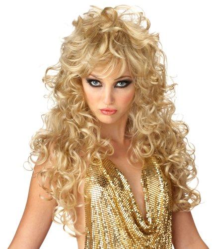 California Costume Women's Seduction Wig, Blonde, ADULT ()
