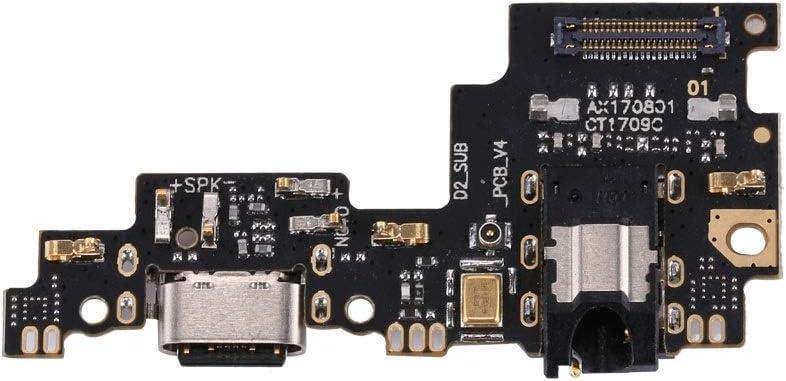KANEED Piezas de Repuesto del Conector de Cola, Tarjeta de Puerto de Carga Xiaomi Mi 5X / A1
