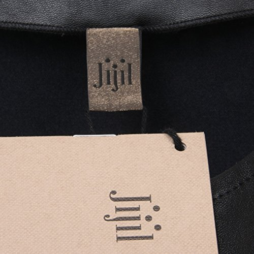 Donna Maglia Ecopelle shirt Jijil C8580 Woman Nero T q4gw5Wdzx