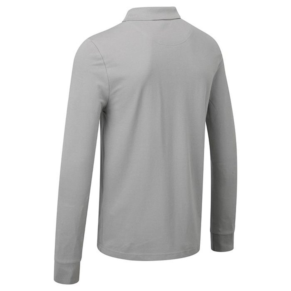 Lotus Long Sleeve Polo Mens